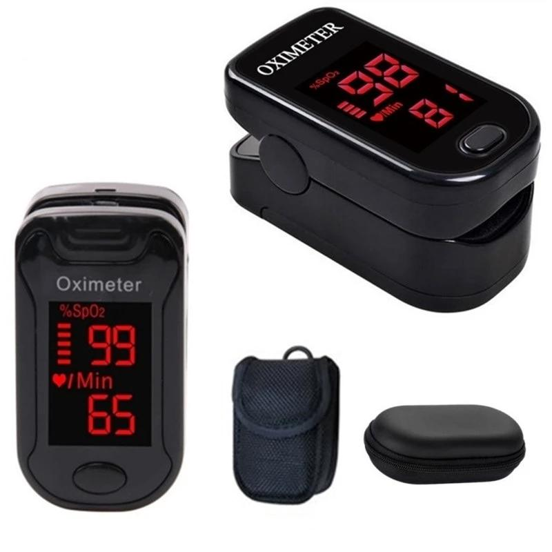 Blood Pressure Monitors - Health Monitor Fingertip Pulse Oximeter