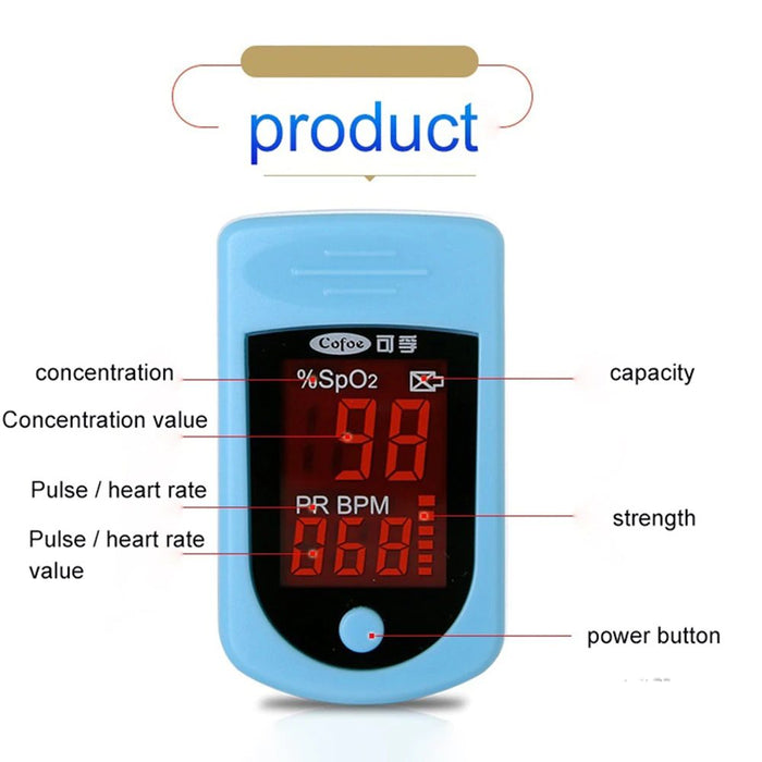 Blood Pressure Monitors - Portable And Easy To Use Pulse Oximeter