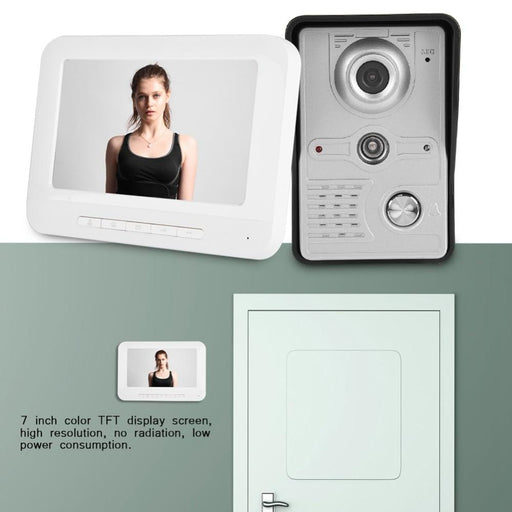 Doorbell - Camera Door Ring Intercom Kit
