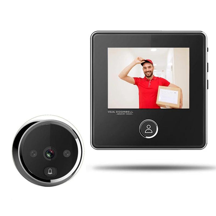 Doorbell - LCD Screen Electronic Door Viewer Bell