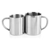 Shatterproof Stainless Steel Double Wall Mugs