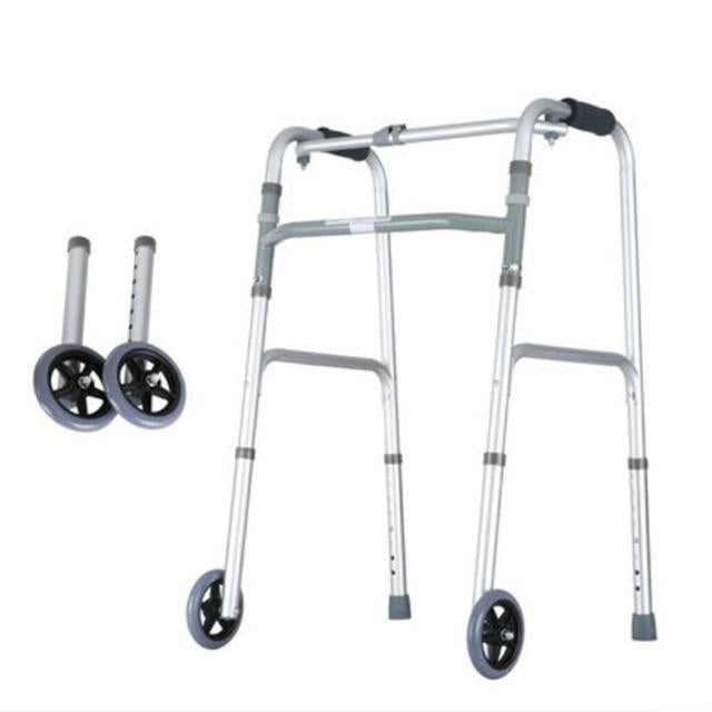 Four-Legged Crutch Walking Aid