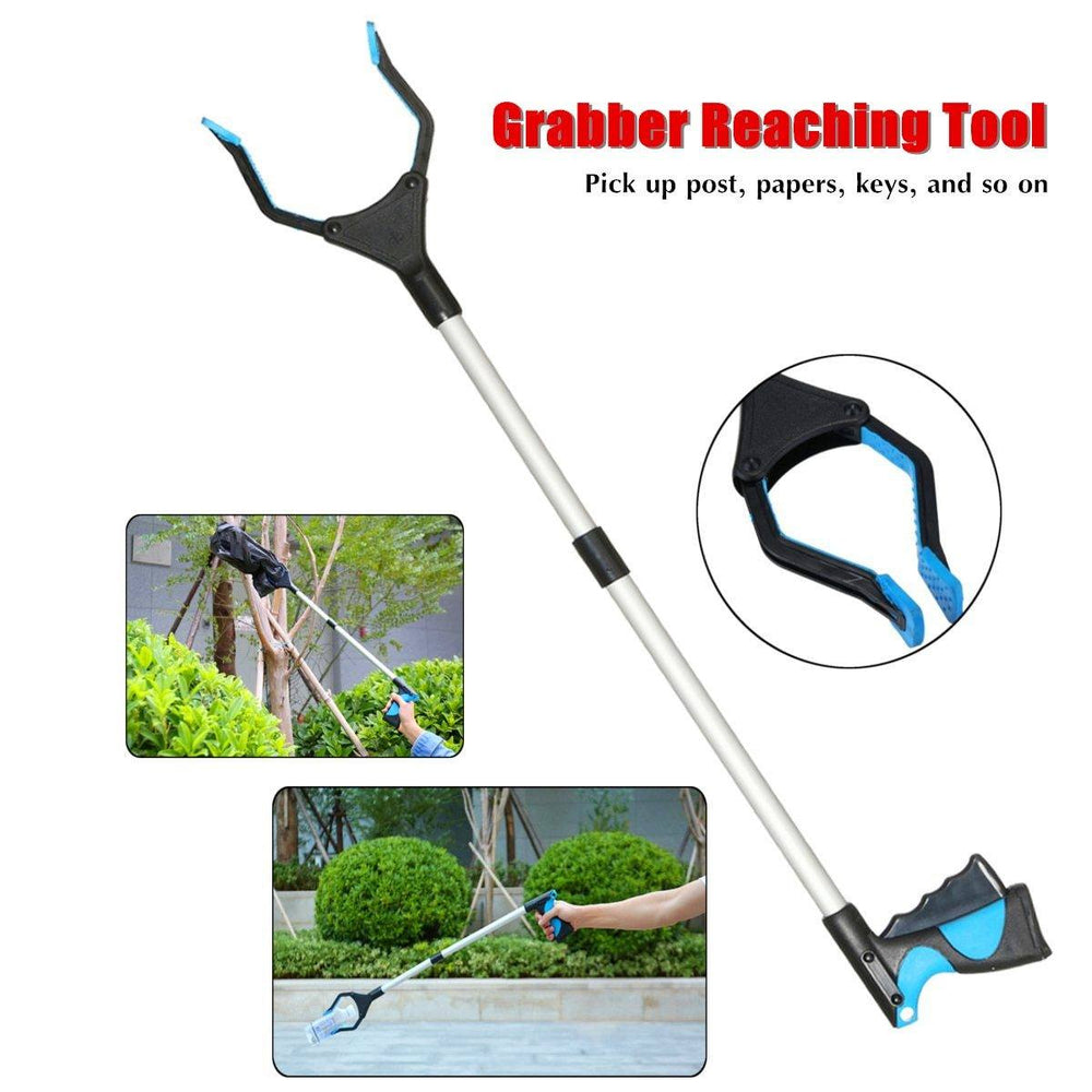 "Hand Held Reacher - 32"" Grabber Reaching Tool"