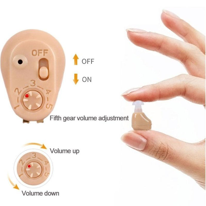 Hearing Amplifier - Rechargeable Mini Hearing Aid