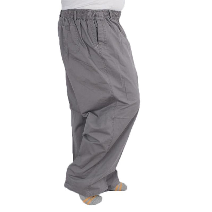 Men'sClothing - High Waist Elastic Band Trousers