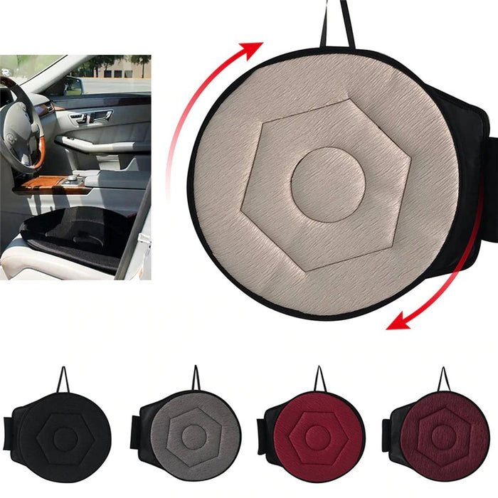 Non-slip Car Seat Revolving and Rotating Memory Foam