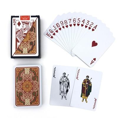 Playing Card - 2 Sets/Lot Pattern  Plastic Playing Cards