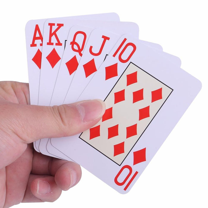 Playing Card - Novelty Waterproof Plastic Playing Cards