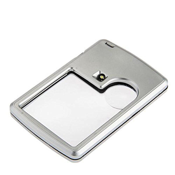 Reading Magnifying Glass - Card Magnifier With LED Light