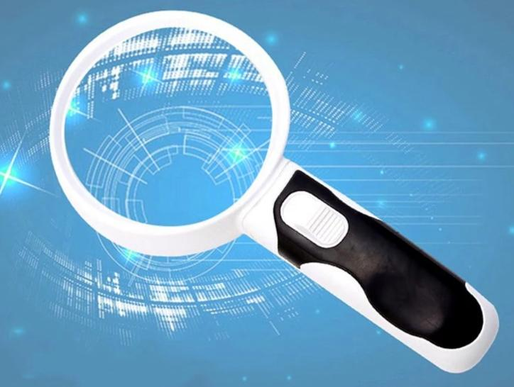 Reading Magnifying Glass - Handheld Magnifying Glass With LED Light