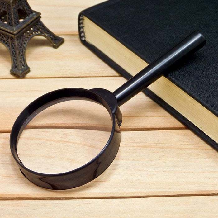 Reading Magnifying Glass - Mini Hand Held Magnifying Glass