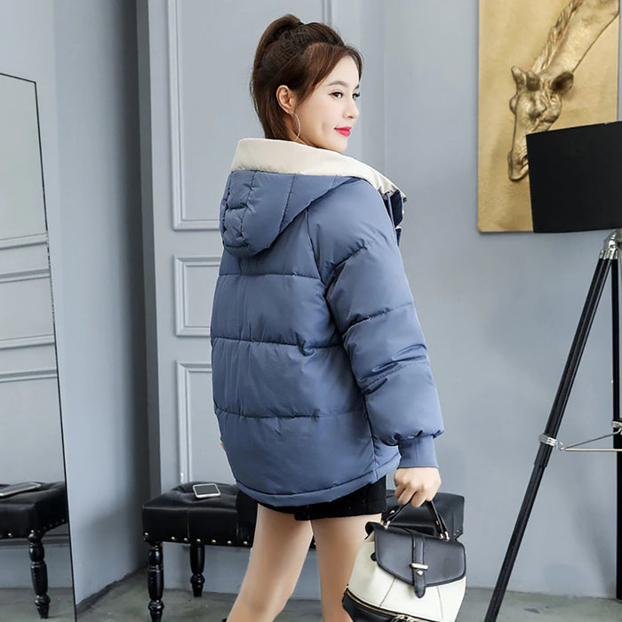 Stylish and Chic Hooded Winter Jacket