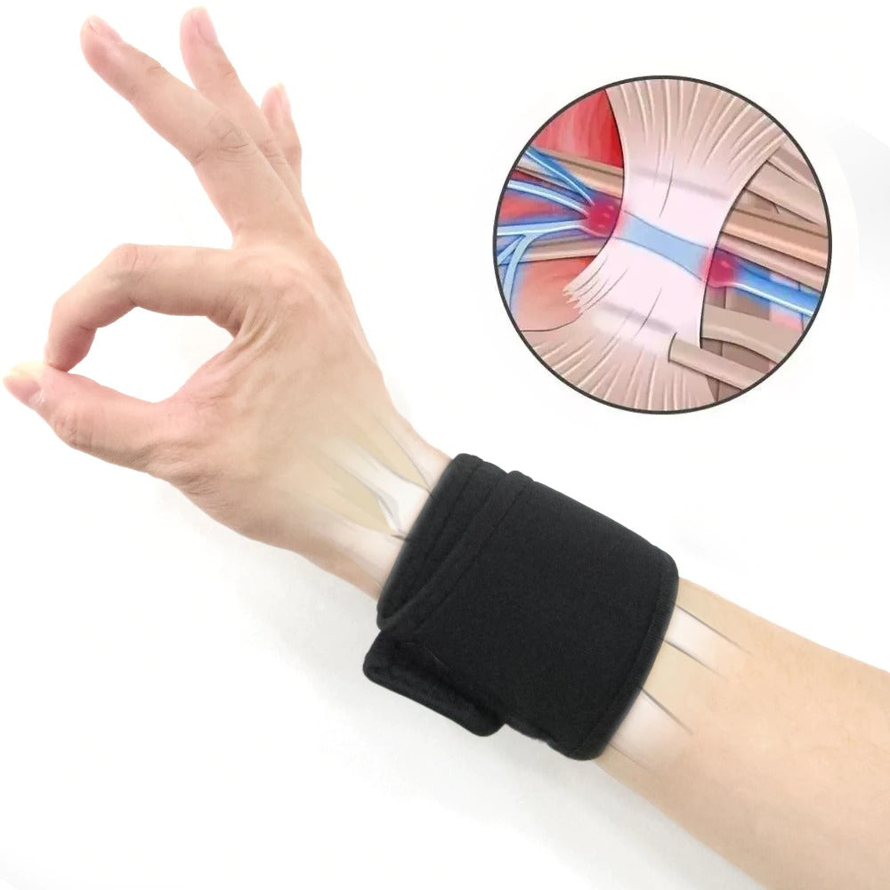 Adjustable Self-Heating Wrist Support Brace