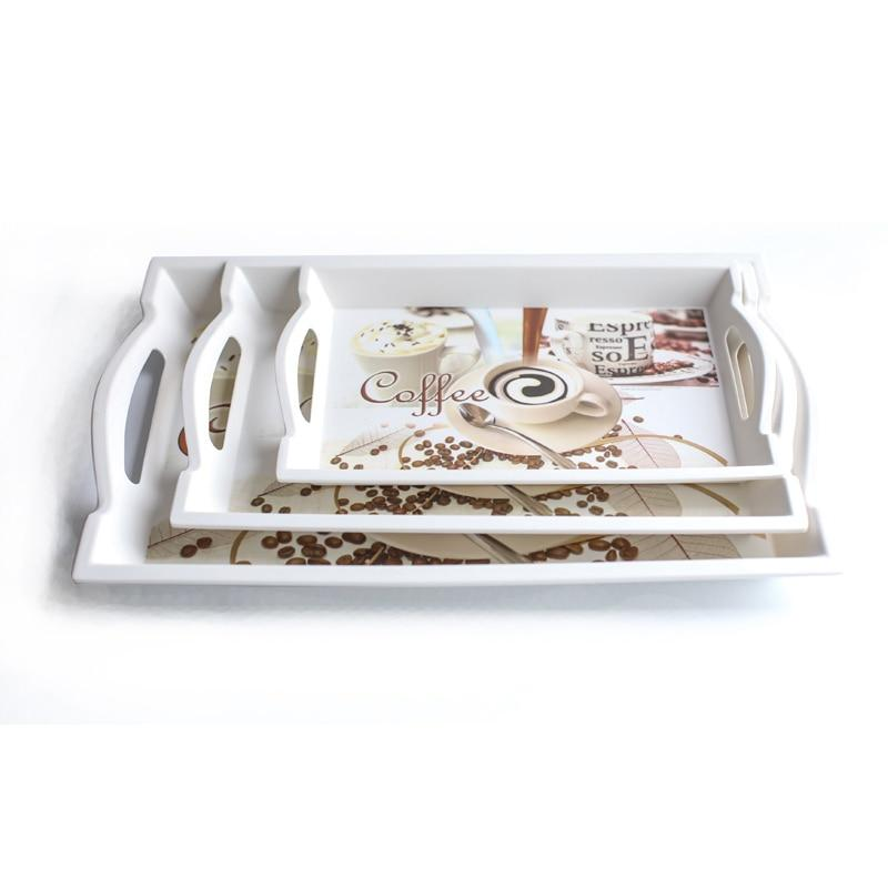 Serving Tray - Decorative Serving Tray With Handles