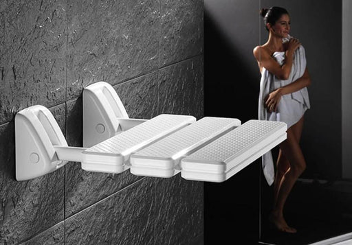 Shower Seats - Non-slip Foldable Shower Wall Stool