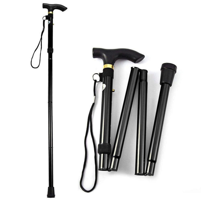 Specialty Canes - Aluminum Alloy Metal Folding Cane