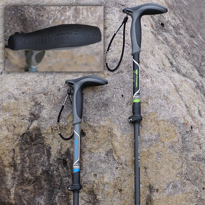 Specialty Canes - T Handle Telescopic  Walking Sticks