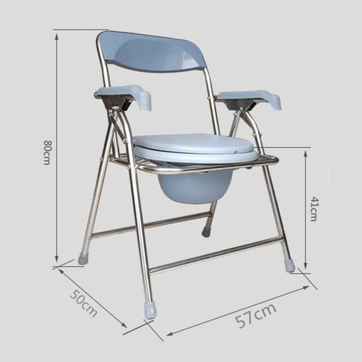 Toilet Safety Frame - Bedside And Toilet Commode Chair