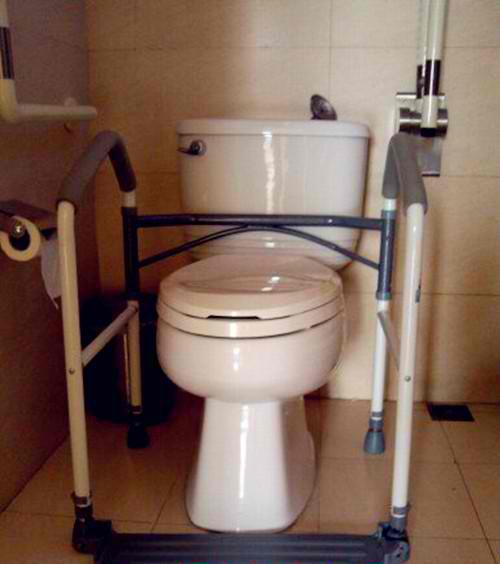 Toilet Safety Frame - Portable Folding Toilet Rack