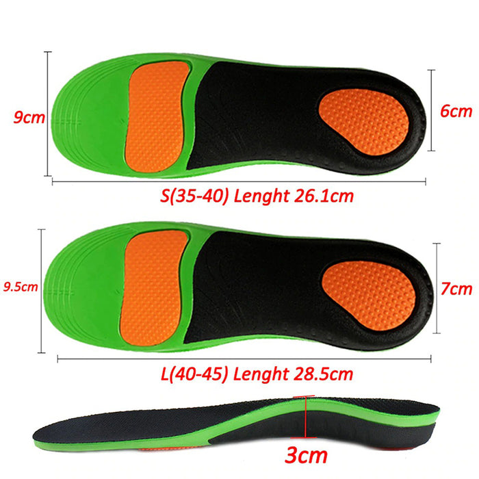 Orthopedic Arch Support Shoe Insoles