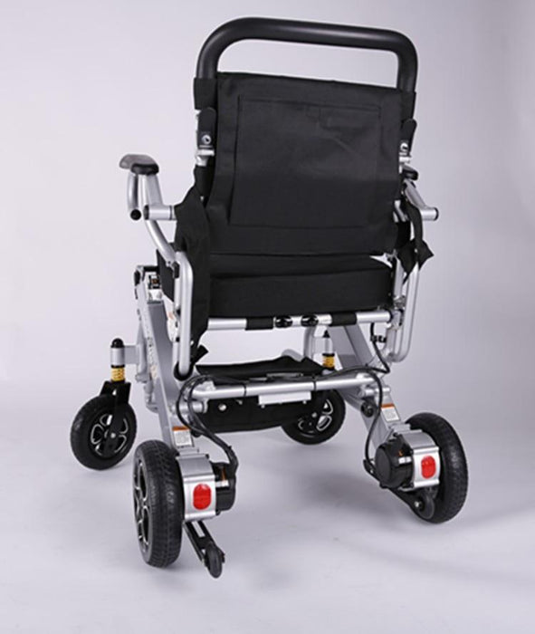 Wheelchairs - Electric Folding Travel Wheelchair