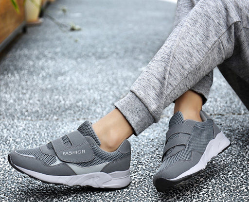 Womens Footwear - Outdoor Comfortable Elderly Sneaker Shoes