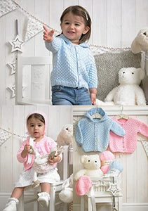 Stylecraft Wondersoft DK Jackets, Bonnet, Leggings & Mitts Kitting Pattern 4005