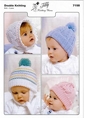 Baby to Toddler Hand Knitting Pattern 7158