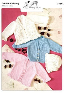 Teddy DK Knitting Pattern Children's Jacket - 7186