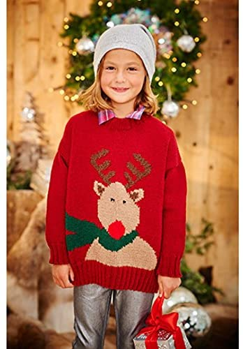Stylecraft Children's Christmas Sweaters Special Knitting Pattern 9204 DK