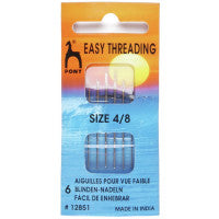 Pony - Hand Sewing Needles - Easy Thread 4/8