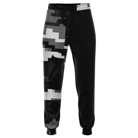Gray Camo Tracky Bottoms