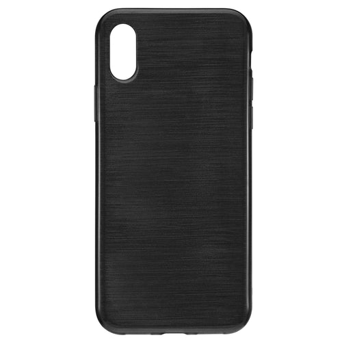 Blu Element Brushed Gel Skin Black for iPhone XS/X