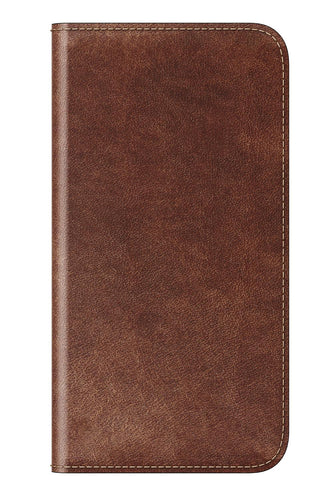 Nomad Traditional-Leather Folio Brown for iPhone X