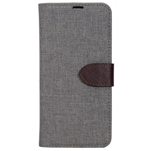 Blu Element 2 in 1 Folio Case Beige/Brown for iPhone 8/7/6S/6