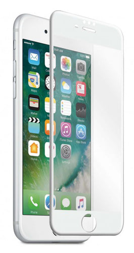 Blu Element 3D Curved Glass Screen Protector White for iPhone 8/7/6S/6