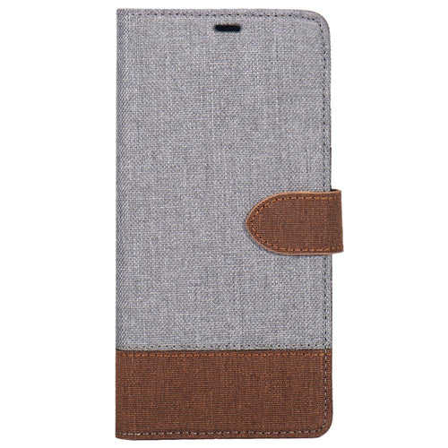 Blu Element 2 in 1 Folio-2 Tone Case Grey/Brown for Samsung Galaxy S9+