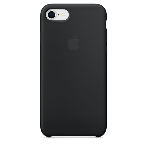 Apple Silicone Case Black for iPhone 8/7