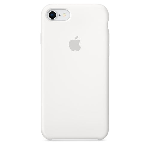 Apple Silicone Case White for iPhone 8/7