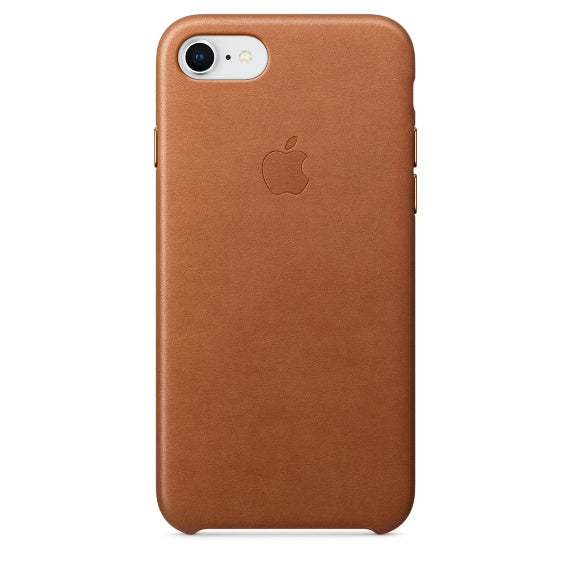 Apple Leather Case Brown for iPhone 8/7