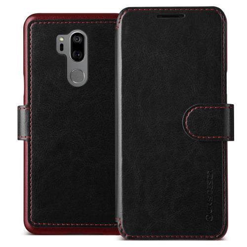 Vrs Design Layered Dandy Folio Case Black for LG G7 One/G7 ThinQ