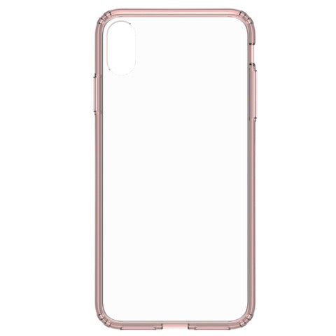 Blu Element Clear Shield Case Pink for iPhone XS Max
