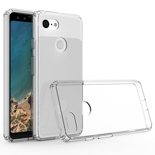 Blu Element DropZone Clear Rugged Case Clear for Google Pixel 3
