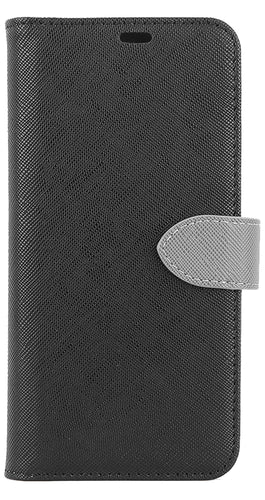 Blu Element 2 in 1 Folio Case Black/Gray for Samsung Galaxy S10+