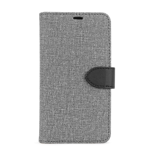 Blu Element 2 in 1 Folio Case Gray/Black for Samsung Galaxy S10+