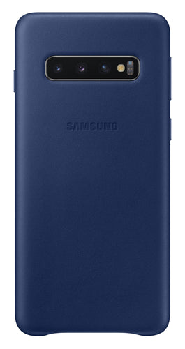 Samsung Leather Cover Case Navy for Samsung Galaxy S10+