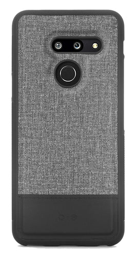 Blu Element Chic Collection Case Gray/Black for LG G8 ThinQ