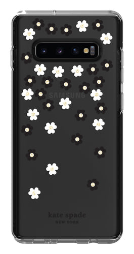 Kate Spade Protective Hardshell Case Scattered Flowers for Samsung Galaxy S10+