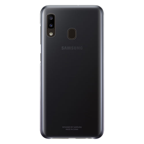Samsung Gradation Ultra-Thin Cover Case Black for Samsung Galaxy A20