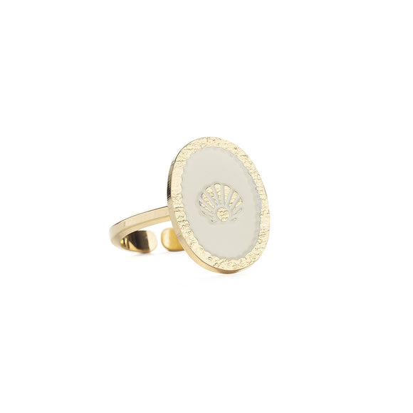 Bague SCEAU COQUILLE